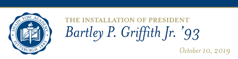 Bartley P. Griffith Jr. Installation Ceremony