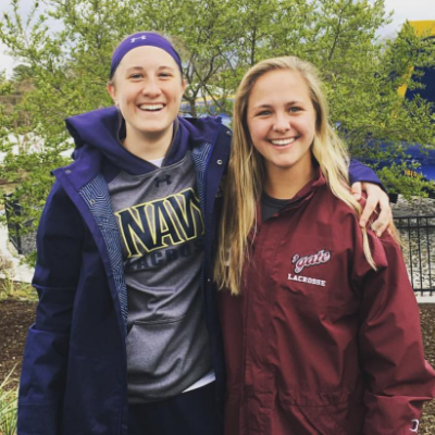 Gab Harchelroad '15 and Charlotte Redican '15, Shady Side Academy Alumni