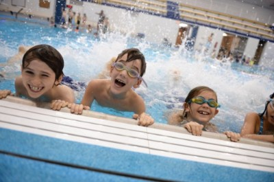 Shady Side Academy Elementary Summer Camp Students Swimming