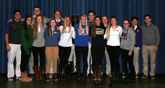 Class of 2015 College Athletes