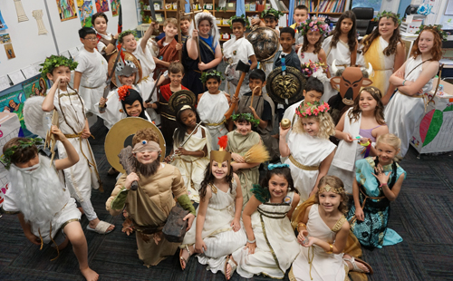 Fourth Grade Greek Museum