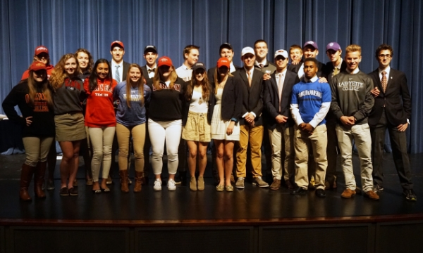 Class of 2016 College Athletes