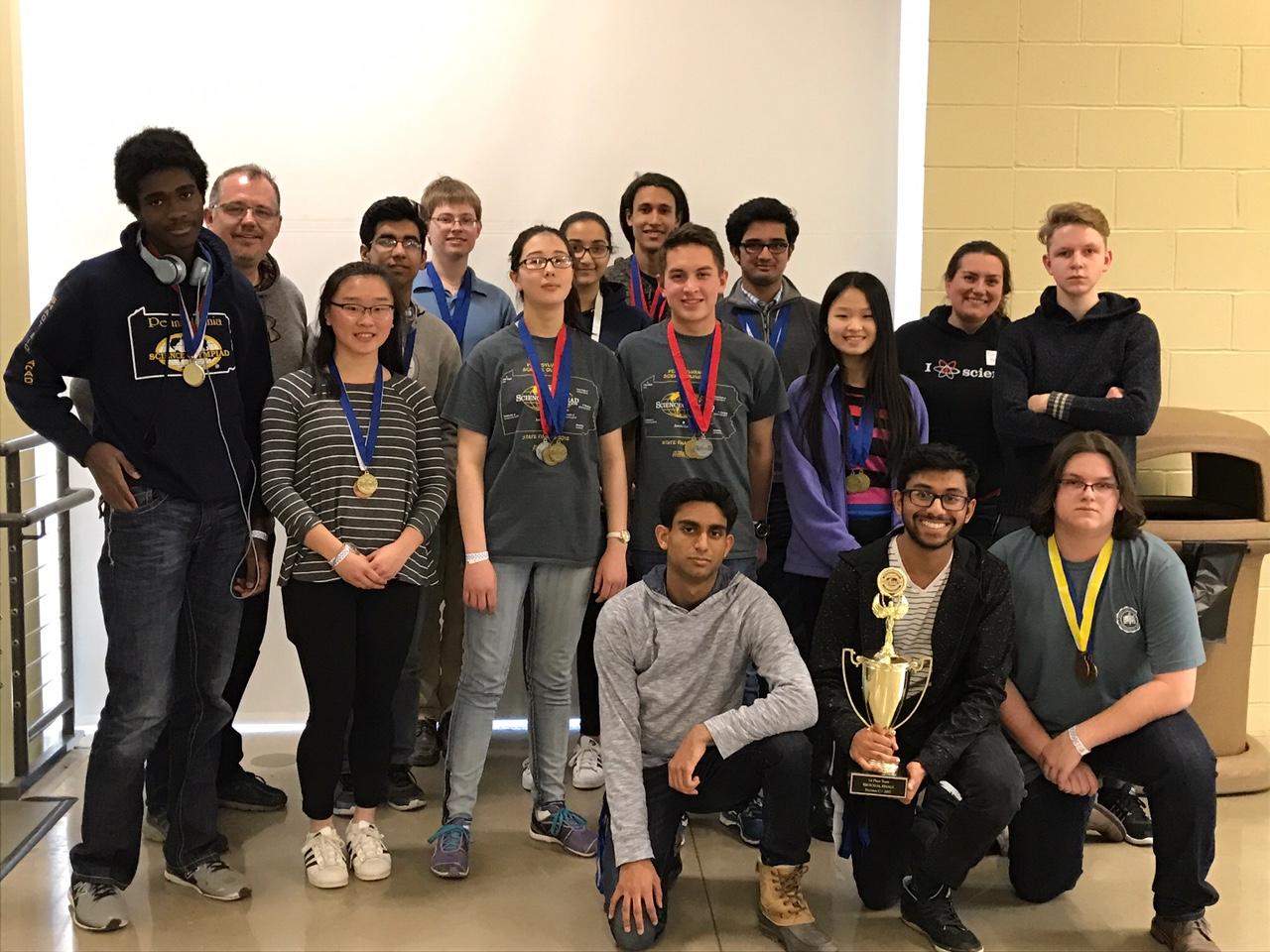Middle & Senior School Science Olympiad Teams Win Regional ...
