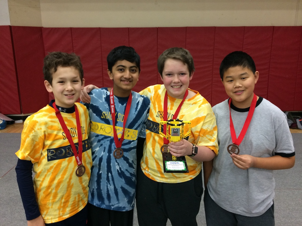 Robotics Teams Compete in FIRST LEGO League Championship