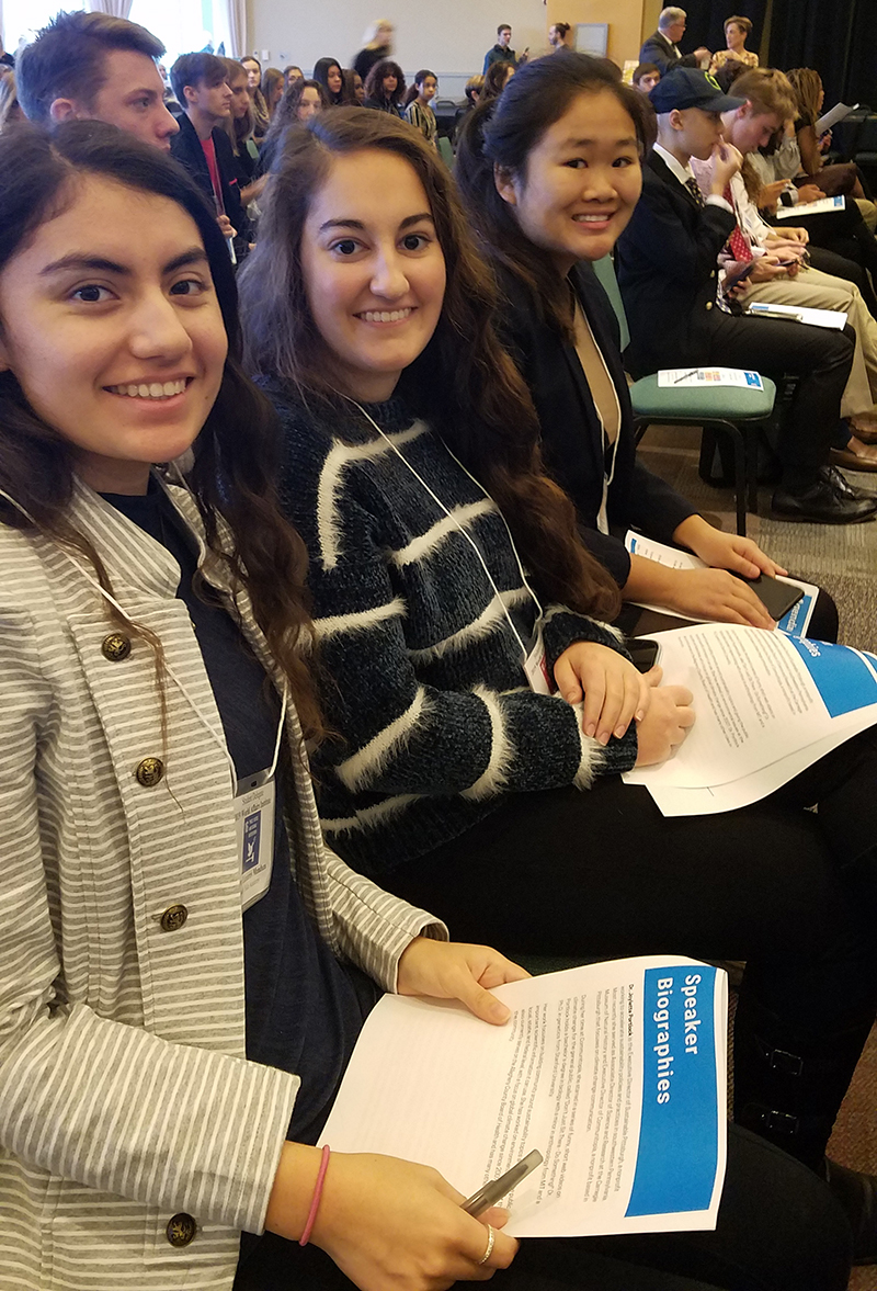 SSA students at the World Affairs Institute