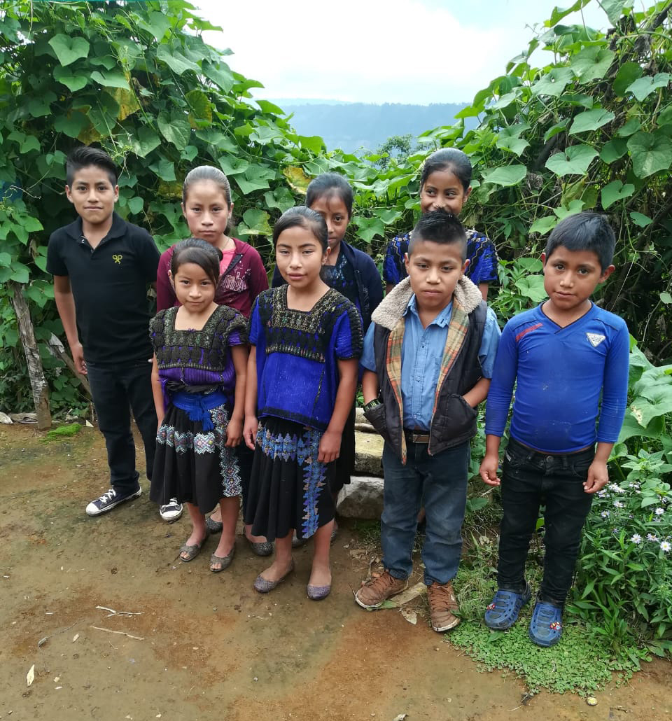 Group photo of Chiapas students.