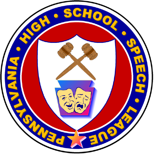 Pennsylvania High School Speech League Logo